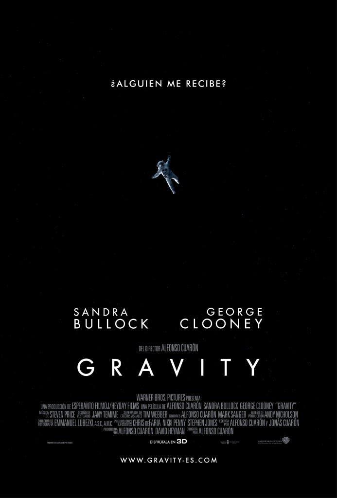 Nuevo poster de Gravity