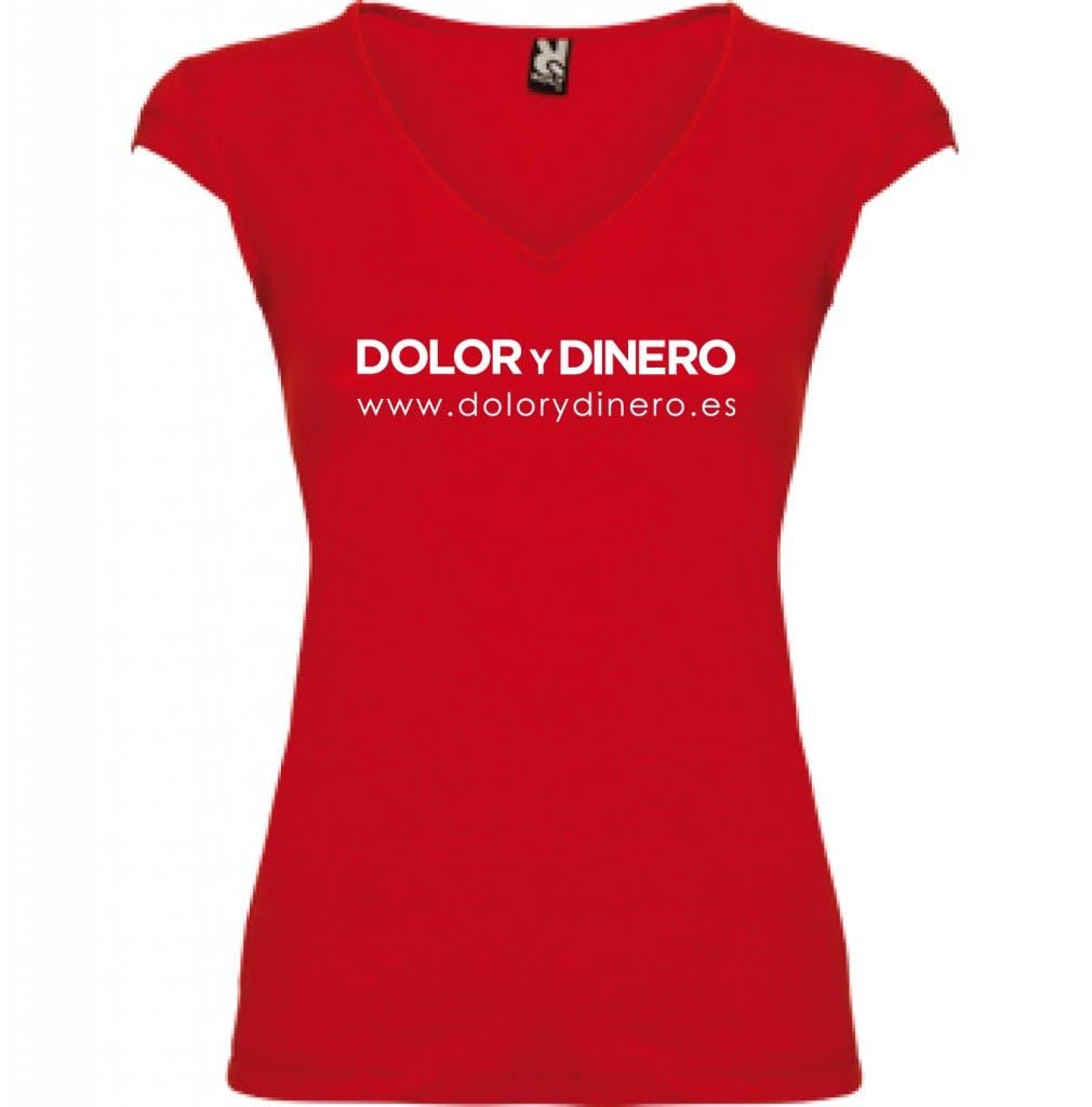 camiseta chica Dolor y Dinero