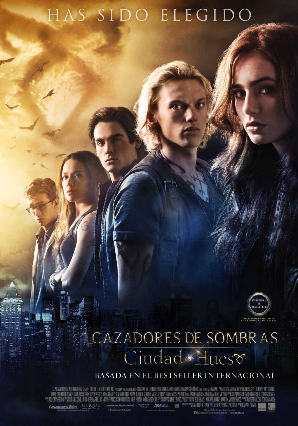 póster de Cazadores de sombras: Ciudad de Hueso