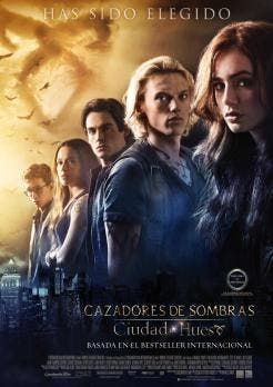 cartel final Cazadores de sombras