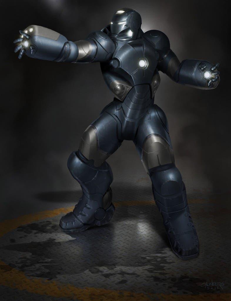 """""""Hammerhead"""" Deep Dive Suit Concept"""