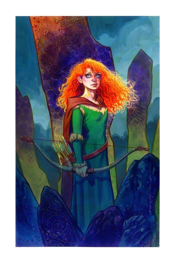 Visión de Merida de Brave de Pixar por BrianStelfeeze