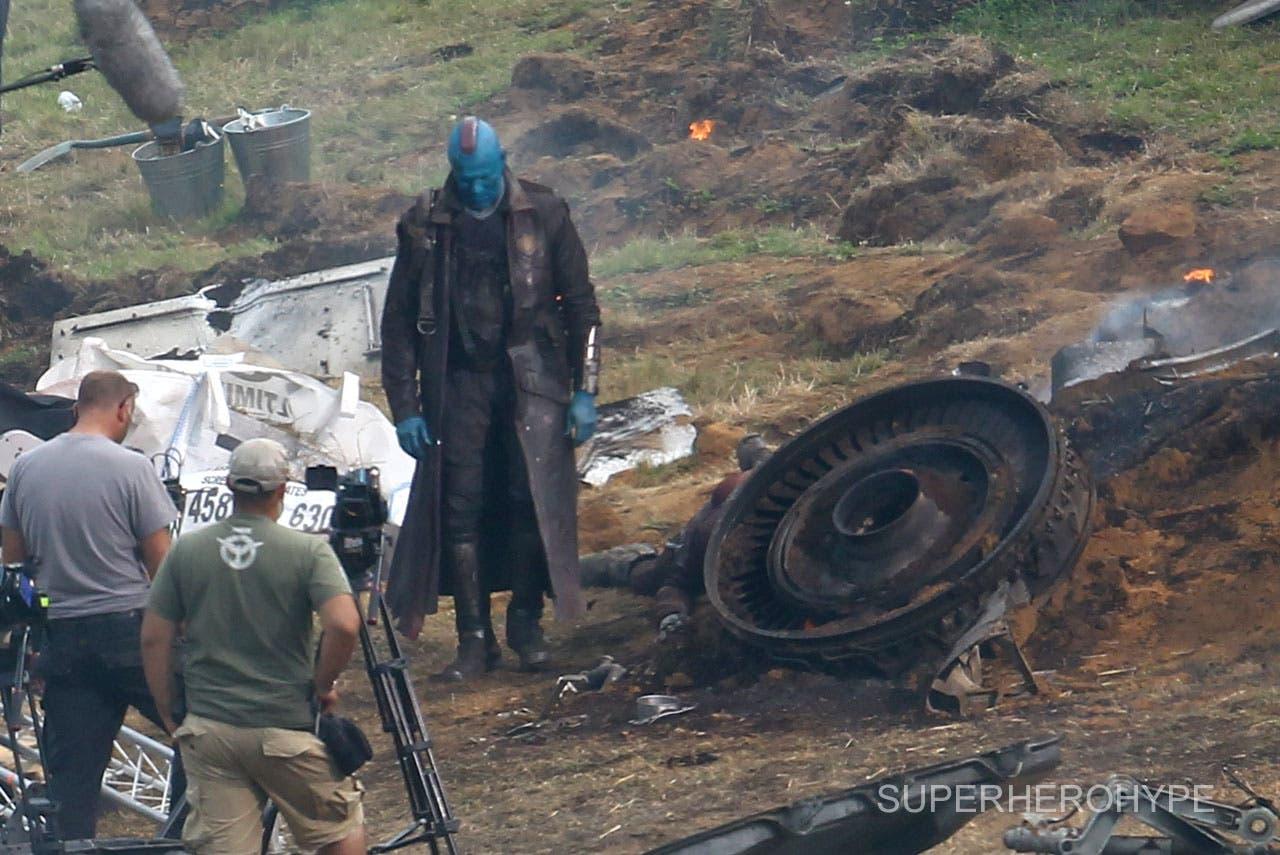Michael Rooker como 'Yondu' en LOS GUARDIANES DE LA GALAXIA
