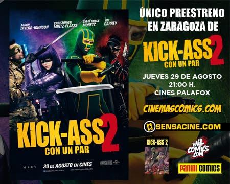 Preestreno en Zaragoza de Kick-Ass 2