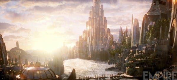 El mundo de Asgard en Thor: El mundo oscuro