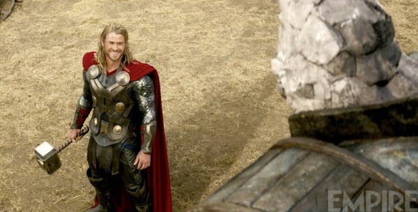 Chris Hemsworth en Thor: El mundo oscuro