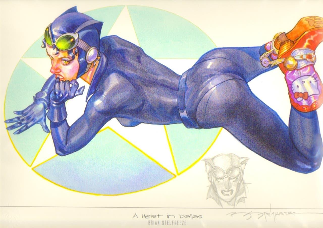Catwoman por Brian Stelfreeze