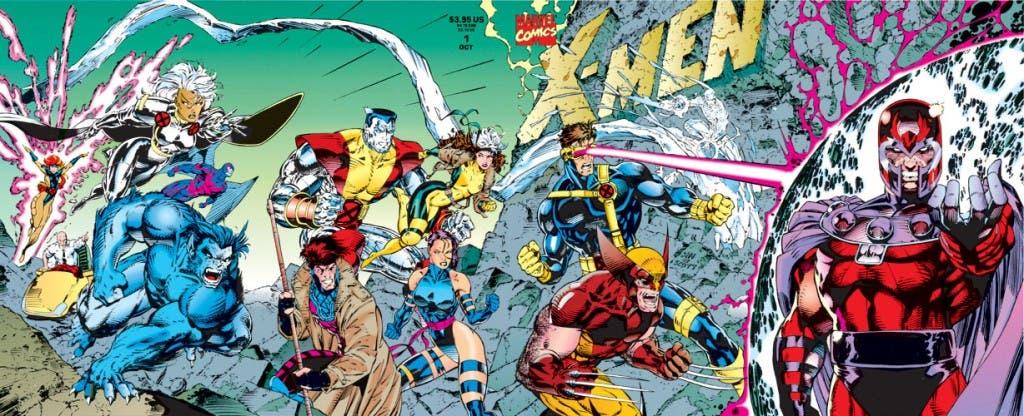 Portada de Jim Lee para X-Men