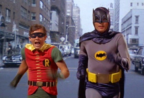 El delirante Batman de Adam West