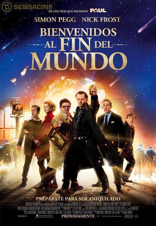 Poster español de Bienvenidos al fin del mundo