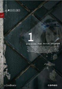 Carátula en DVD de '1', de Pater Sparrow