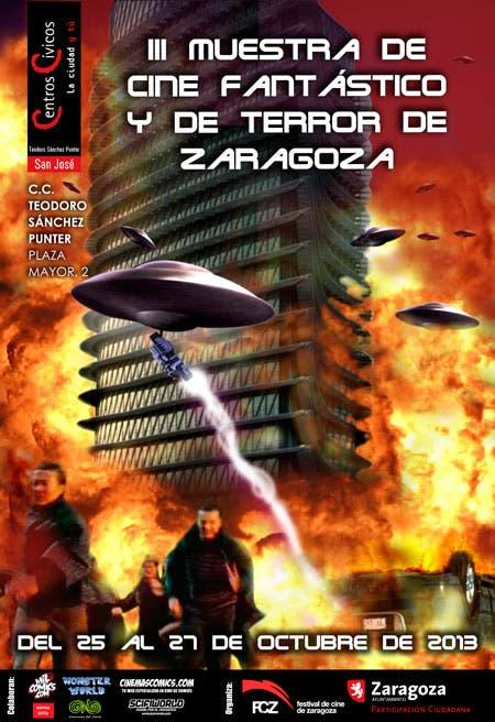 Cartel III muestra de cine fantástico y de terror de Zaragoza