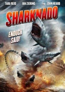 Cartel de la delirante 'Sharknado'