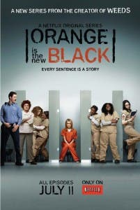 Cartel de 'Orange is the new black'