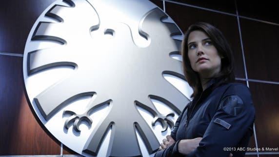 Cobie Smulders es Maria Hill en Agents of S.H.I.E.L.D.