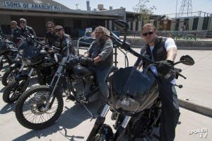 El club de moteros de 'Sons of Anarchy', con Jax (Charlie Hunnam) al frente