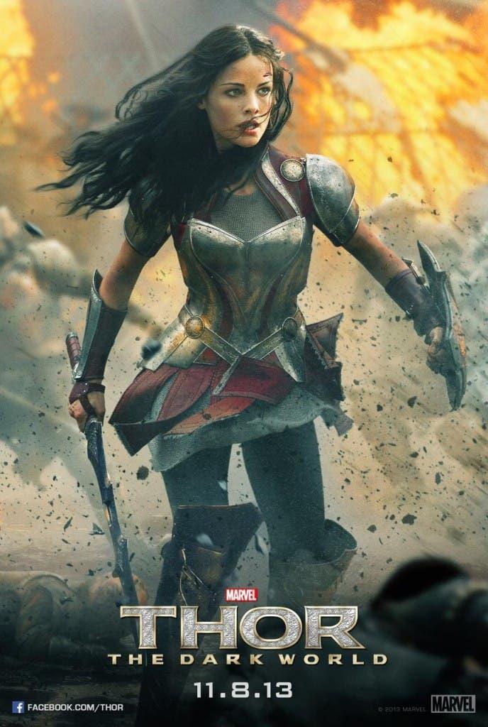 Poster de Lady Sif para Thor: El mundo oscuro