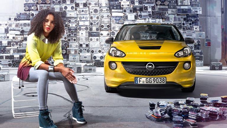 Opel ADAM Slam Luis Medina