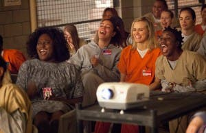 Fotograma de la serie carcelaria 'Orange is the new black'