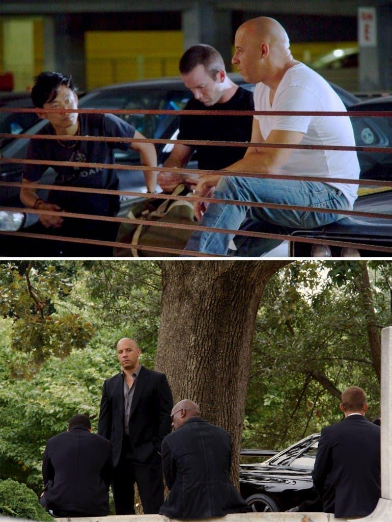 Primera imagen de James Wan y Lucas Black en Fast and Furious 7