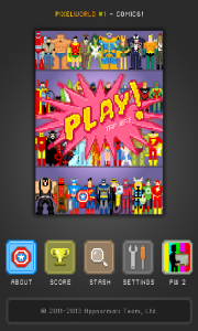 'PixelWorld #1 Comics'