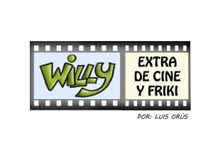 Logo de 'Willy, extra de cine y friki'