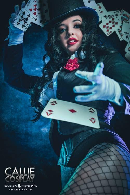 Callie Cosplay Zatanna
