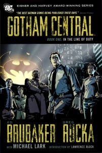 Portada del cómic Gotham Central