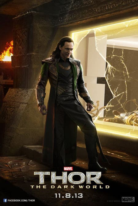 Póster de Loki en Thor: El mundo oscuro