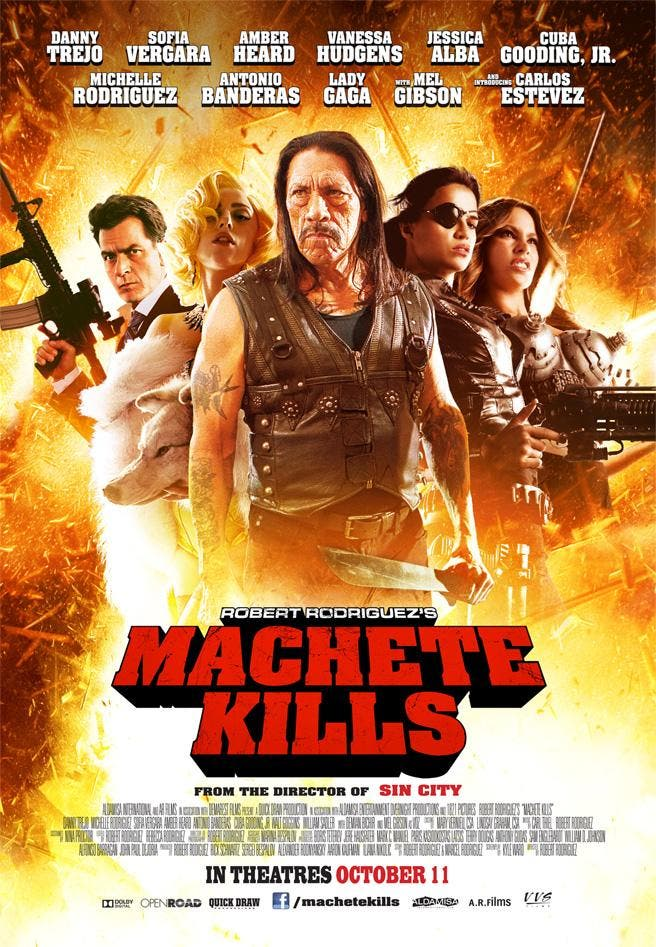 Poster de Machete Kills