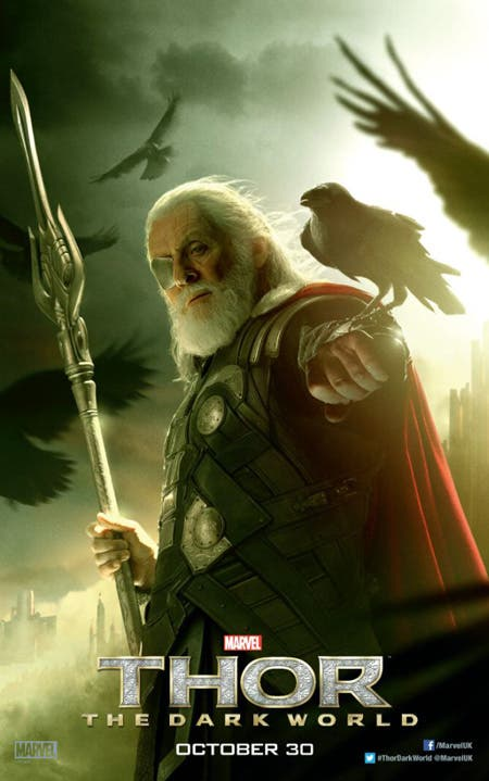 Póster de Odin en Thor: El mundo oscuro