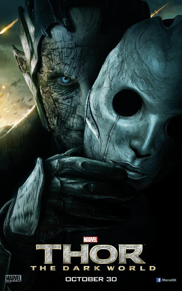 Poster de Malekith en Thor El mundo oscuro