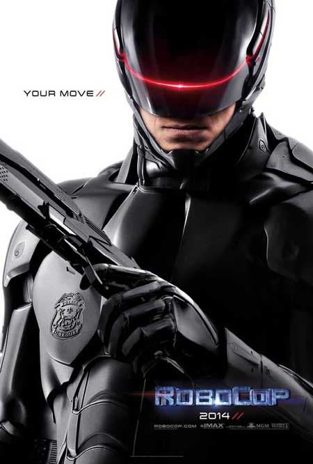 Póster del remake de RoboCop