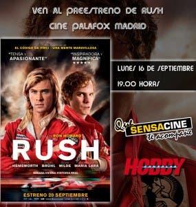 Preestreno de RUSH en Madrid