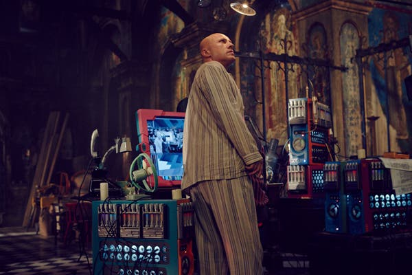 Fotograma de The zero theorem con Christoph Waltz