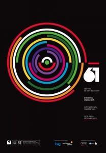 Cartel oficial de la 61 edición del Festival de San Sebastián