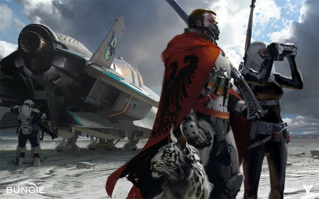 Concept Art de Destiny