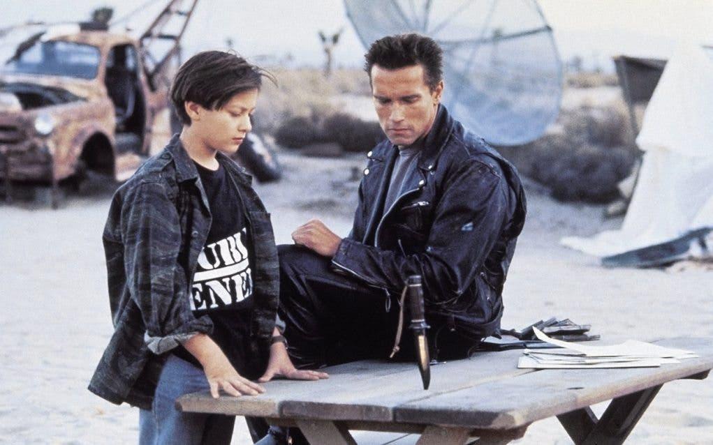 Edward Furlong en Terminator 2: El día del juicio final