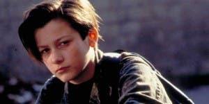 Furlong, con su cara de niño malo en 'Terminator 2', su debut en el cine