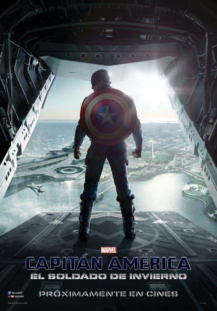 Nuevo poster de Capitan America Soldado de invierno