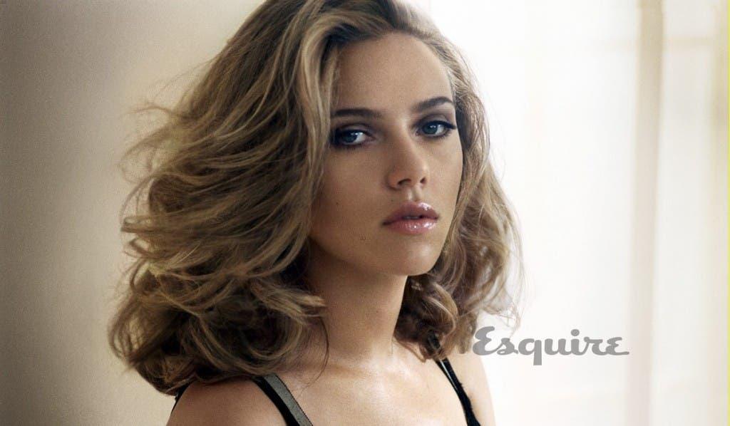 Scarlett Johansson en Esquire