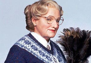 Williams encarnó a la mítica Señora Doubtfire