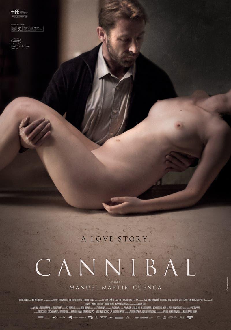 Poster de Canibal de Manuel Martín Cuenca