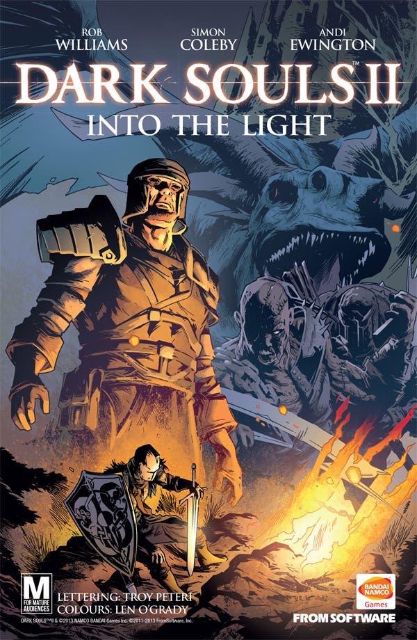 Llega el cómic basado en Dark Souls II