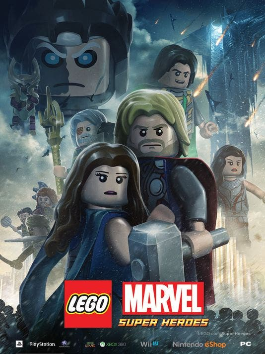Póster de 'Thor: El mundo oscuro' versión LEGO