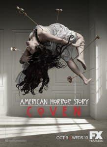 Cartel promocional de 'American Horror Story: Coven'