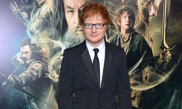 Ed Sheeran El Hobbit: La desolación de Smaug