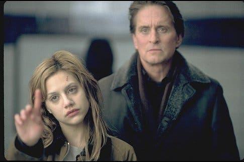 Murphy, con Michael Douglas en 'Ni una palabra'