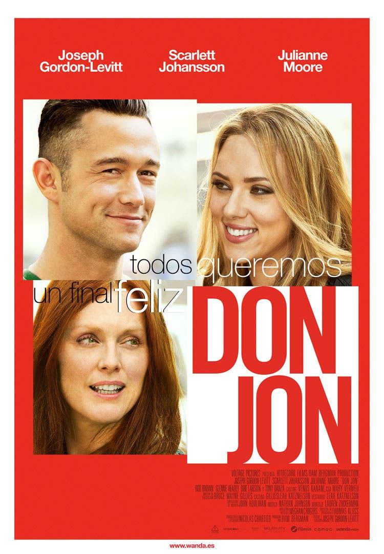 Poster español de Don Jon