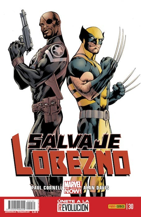 'Salvaje Lobezno' de Marvel comics